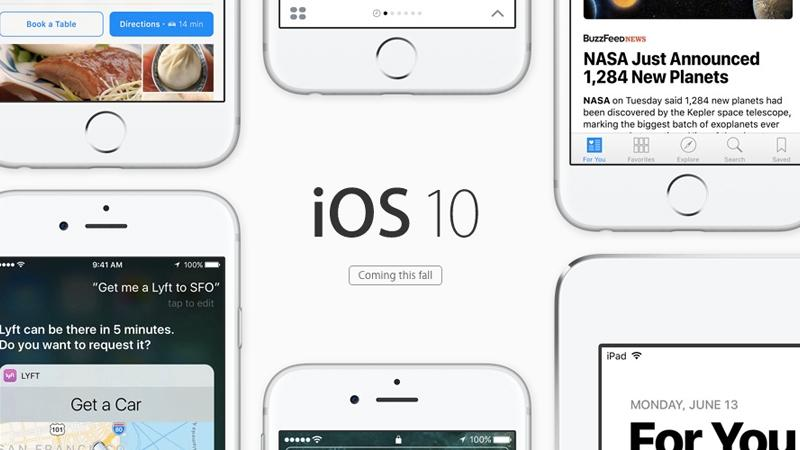 iOS 10 release date, new features & supported iPhones & iPads