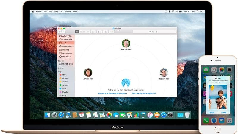 How to transfer photos and files to iPhones and Macs using AirDrop