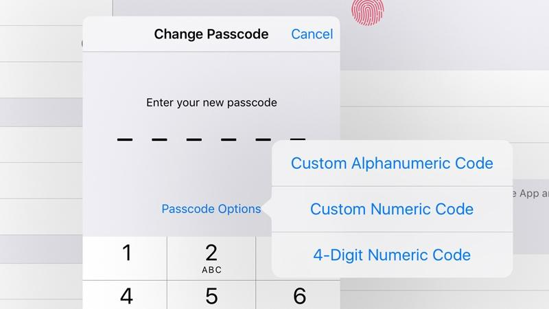 How to change an iPhone or iPad's six-digit passcode to four digits