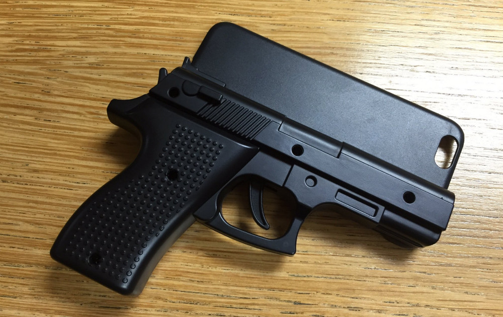 Man's gun-shaped iPhone case caused airport security scare
