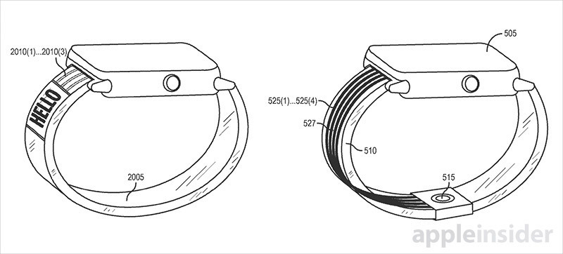 Apple Watch : Patent Application Describes a Versatile Technology That Shells Full of Fluid
